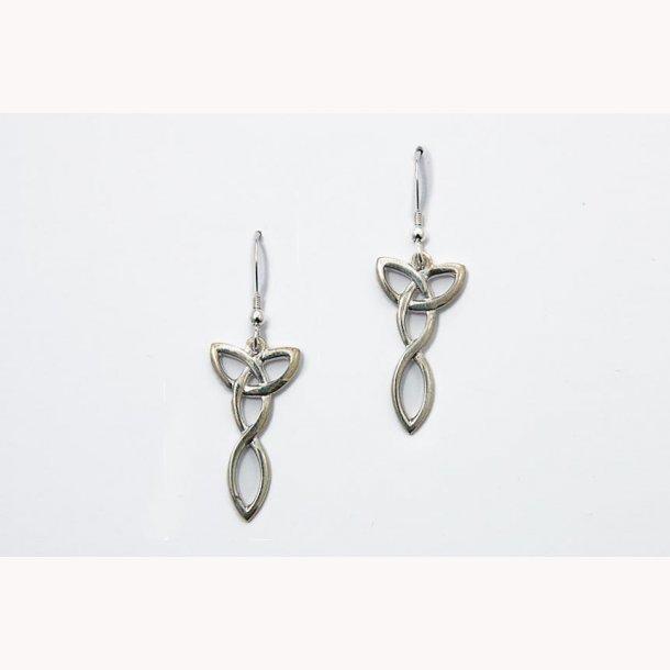 Keltiske knudedråbe øreringe