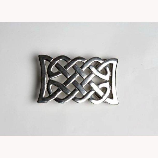 Keltisk knude - bæltespænde