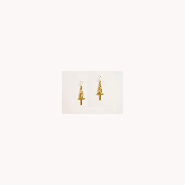 Ægyptiske ankh øreringe
