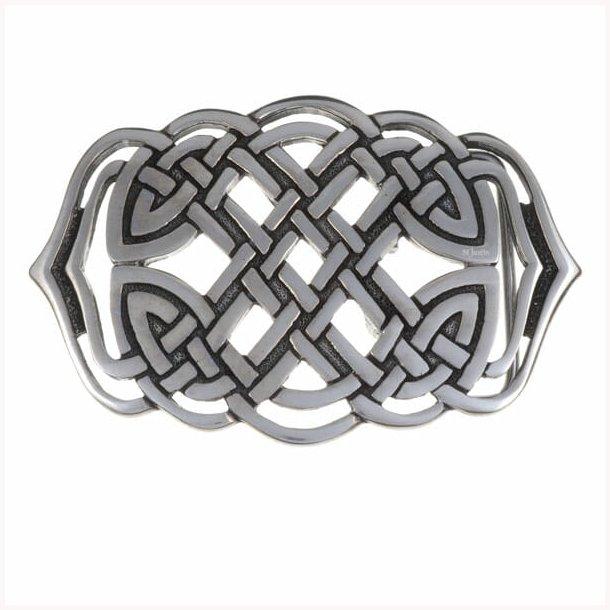 Keltisk knude spiral spænde