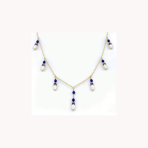 Kejserlig russisk halskæde fra 1908 med perler