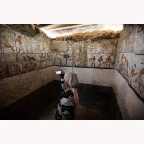 Ny grav fra Faraos Ægypten