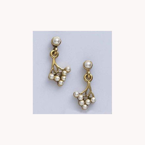 Art Nouveau øreringe inspireret af Jean Baptiste Saint-Yves